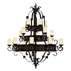 Capital Lighting River Crest Rustic Iron Chandelier
