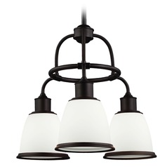 Feiss Lighting Hobson Oil Rubbed Bronze Chandelier