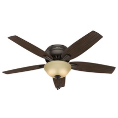 52-Inch Hunter Fan Newsome Premier Bronze Ceiling Fan with Light