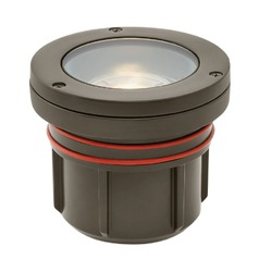 Hinkley Lighting Flat Top Well Light Matte Bronze LED In-Ground Well Light