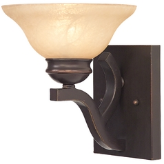 Sconce with Savannah Glass