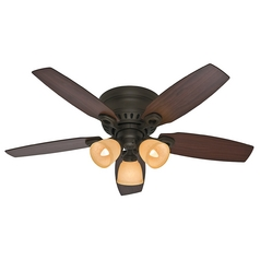 Hunter Fan Company Hatherton New Bronze Ceiling Fan with Light