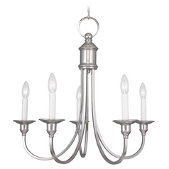 Livex Lighting Coventry Polished Nickel Chandelier