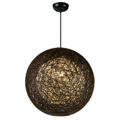 Maxim Lighting Bali Pendant Light with Globe Shade
