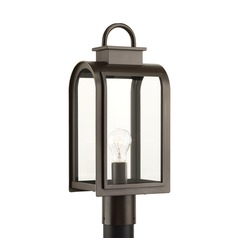 Progress Lighting Refuge Oil Rubbed Bronze Post Light
