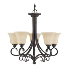 Sea Gull Lighting Del Prato Chestnut Bronze LED Chandelier