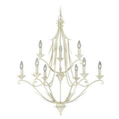 Austen Gilded Patina Chandelier by Vaxcel Lighting