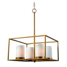 Kenroy Home Tam Gold Mini-Chandelier