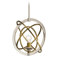 Kichler Lighting Ibis Polished Nickel Pendant Light