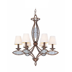 Lite Source Lighting Damaris Aged Bronze Chandelier