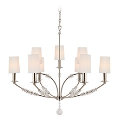 Crystorama Lighting Mirage Polished Nickel Chandelier