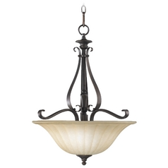 Quorum Lighting Randolph Oiled Bronze Pendant Light