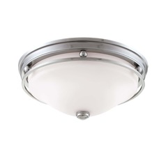 Savoy House Brushed Pewter Flushmount Light