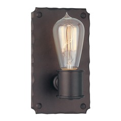 Sconce Wall Light in Copper Bronze Finish