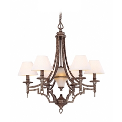 Lite Source Lighting Damaris Pewter Chandelier