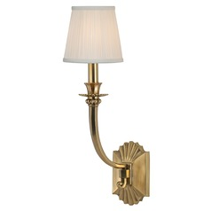 Alden 1 Light Sconce - Aged Brass