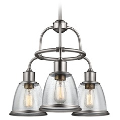 Feiss Lighting Hobson Satin Nickel Chandelier