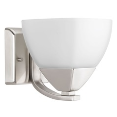 Progress Lighting Appeal Brushed Nickel Sconce