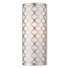 Livex Lighting Arabesque Brushed Nickel Sconce