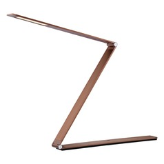 Quoizel Lighting Quoizel Portable Lamp Red Bronze Table Lamp