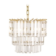 Robert Abbey Spectrum Antique Brass Pendant Light