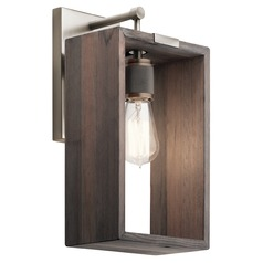 Kichler Lighting Industrial Frames Classic Pewter Sconce