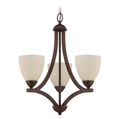 Craftmade Almeda Old Bronze Mini-Chandelier