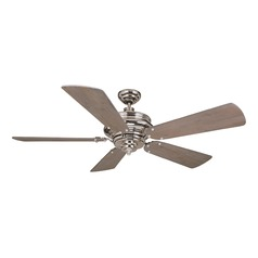 Craftmade Lighting Townsend Polished Nickel Ceiling Fan Without Light