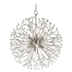 Hudson Valley Lighting Dunkirk Polished Nickel Pendant Light