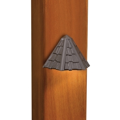 Kichler Deck Light in Textured Architectural Bronze Finish