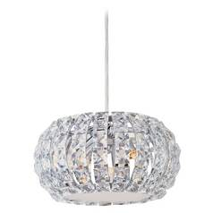Crystal Mini-Pendant Light with3-Lights