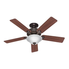 Hunter Fan Company Five Minute Fan New Bronze Ceiling Fan with Light