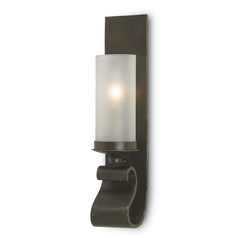 Currey and Company Lighting Bronze Gold Sconce