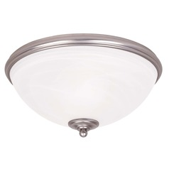 Savoy House Pewter Flushmount Light