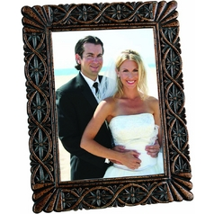 Dark Bronze Decorative Photo Frame