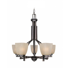 Lite Source Lighting Nita Bronze Chandelier