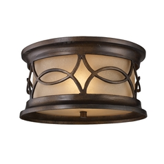 Close To Ceiling Light in Hazelnut Bronze Finish