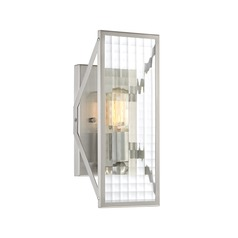 Designers Fountain Pivot Satin Platinum Sconce