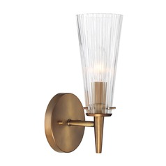 Designers Fountain Montelena Old Satin Brass Sconce