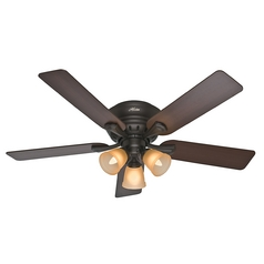52-Inch Hunter Fan Reinert Premier Bronze Ceiling Fan with Light