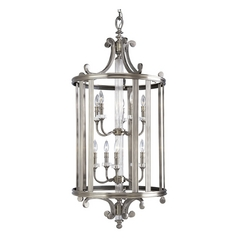 Progress Crystal Pendant Light in Classic Silver Finish
