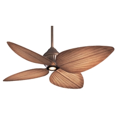 52-Inch Ceiling Fan with Four blades and Light Kit