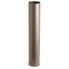 Kichler Textured Black 4-Inch x 24-Inch Bollard Path Light