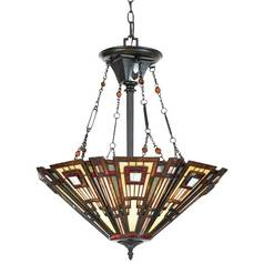 Quoizel Lighting Classic Craftsman Tiffany Pendant TFCC2822VA