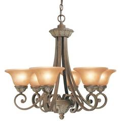 Dolan Designs Lighting Six-Light Chandelier 820-38