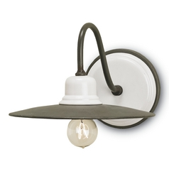 Currey and Company Lighting Hiroshi / White Sconce