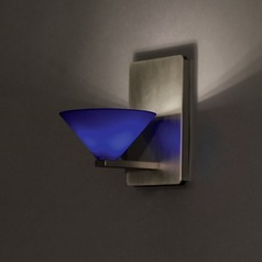 WAC Lighting Jill Brushed Nickel Sconce