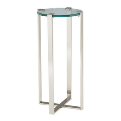 Sterling Lighting Nickel Plant Stand