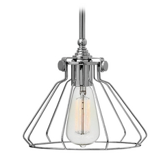 Hinkley Lighting Congress Chrome Mini-Pendant Light