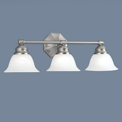 Norwell Lighting Kathryn Brush Nickel Bathroom Light